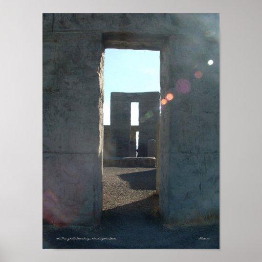 The Maryhill Stonehenge Poster