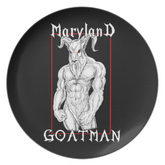 The Maryland Goatman Dinner Plate