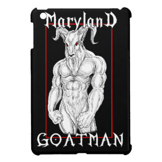 The Maryland Goatman iPad Mini Covers