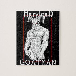 The Maryland Goatman Jigsaw Puzzle