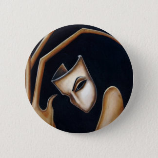 the mask 2 inch round button
