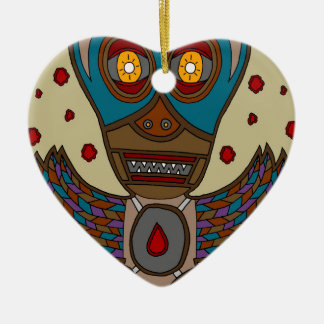 The Masked Blood Bat Ceramic Ornament