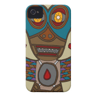 The Masked Blood Bat iPhone 4 Cover