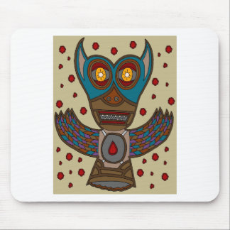 The Masked Blood Bat Mouse Pad