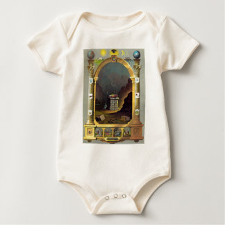 The Masonic Chart Baby Bodysuit