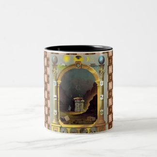 The Masonic Chart Two-Tone Coffee Mug