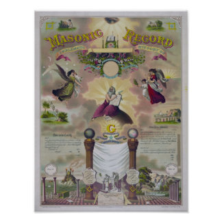 The Masonic Record Poster
