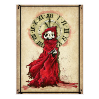 The Masque of the Red Death, Edgar Allan Poe Postcard