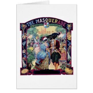 The Masquerade, Greeting Card