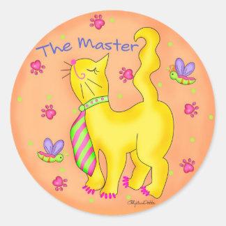 The Master Cat Sticker