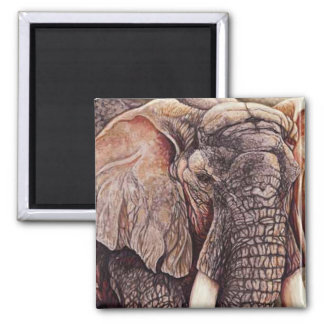 The Matriarch - African Elephant Magnet