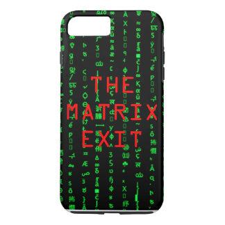 THE MATRIX EXIT iPhone 7 PLUS CASE