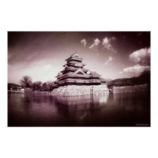 The Matsumoto Castle, Japan Poster