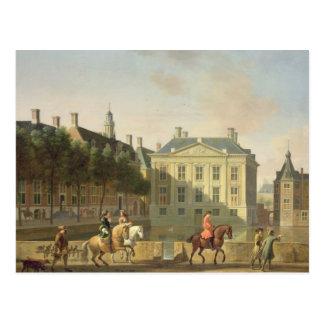 The Mauritshuis from the Langevijverburg Postcard