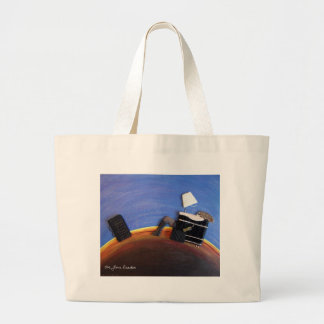 The Maxell Girl Canvas Reusable Grocery Tote Bag