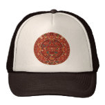 The Mayan (Aztec) Calendar Wheel Mesh Hat