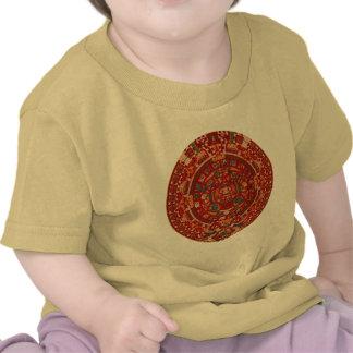 The Mayan (Aztec) Calendar Wheel T Shirt
