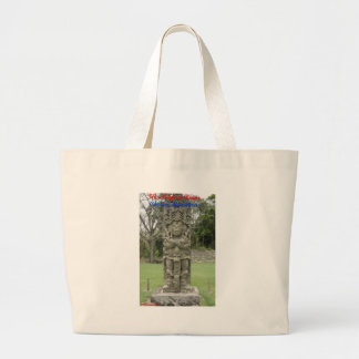 The Mayan Ruins - Copan, Honduras Large Tote Bag