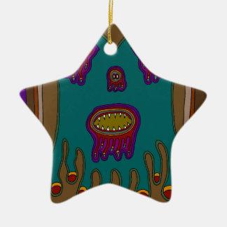 The Mayor of Swampland Ceramic Ornament