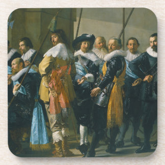 The Meagre Company by Frans Hals 1637 Coasters