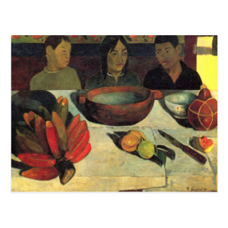The Meal - Paul Gauguin Post Cards