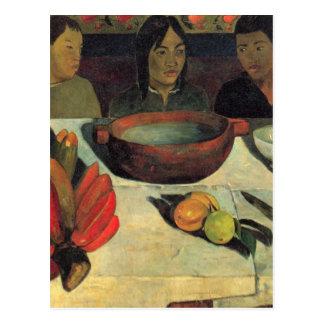 The Meal - Paul Gauguin Postcard