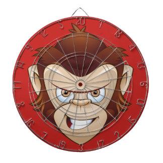 The Mean Drunk Monkey Dart Board