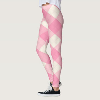 The MeanClique Argyle Magenta Leggings