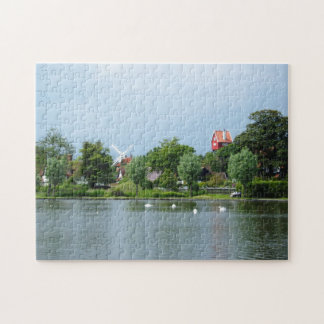 The Meare, Thorpness, Suffolk Jigsaw Puzzle