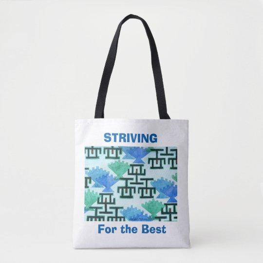 The Measuring Stick Tote Bag