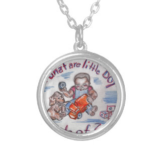 The Mechanic Silver Plated Necklace