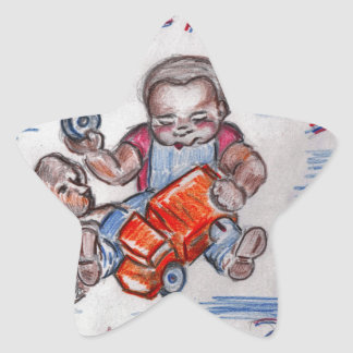The Mechanic Star Sticker