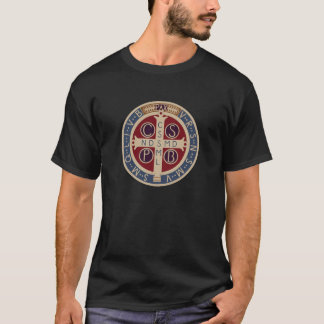 The Medal or Cross of St. Benedict T-Shirt