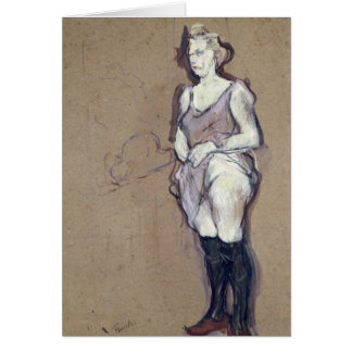 The Medical Inspection: Blonde Prostitute, 1894 Card