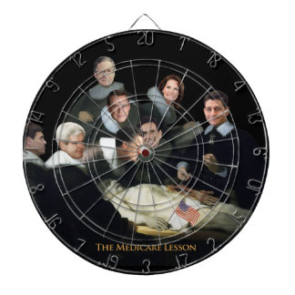 The Medicare Lesson Dartboard