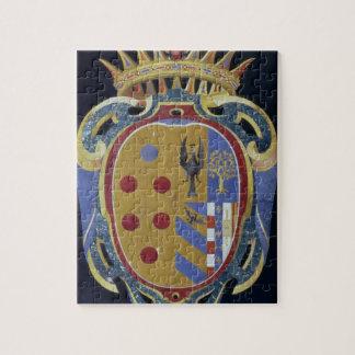 The Medici-Lorena Coat of Arms, c.1638 (pietra dur Jigsaw Puzzle