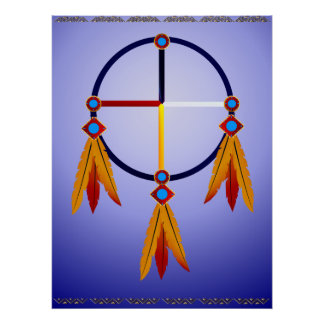 The Medicine Wheel Poster