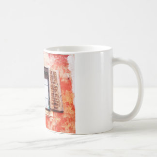 The mediteranean window coffee mug