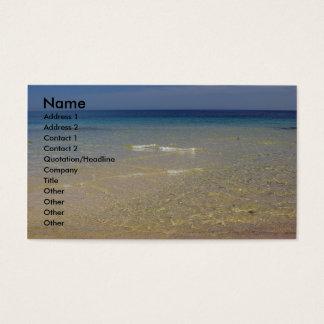 The Mediterranean #1 Business Card