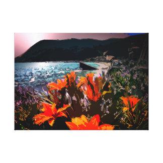 The Mediterranean Sea Canvas Print