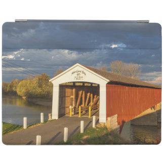 The Medora Covered Bridge Built In 1875 iPad Cover