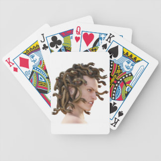 The Medusa Bicycle Playing Cards
