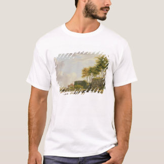 The Medway at Rochester, 1776 (oil on canvas) T-Shirt