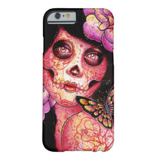 The Meek - Day of the Dead Girl Barely There iPhone 6 Case
