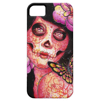 The Meek - Day of the Dead Girl iPhone 5 Covers