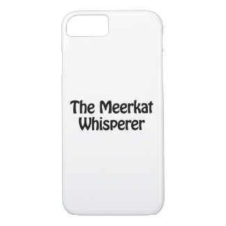 the meerkat whisperer iPhone 8/7 case