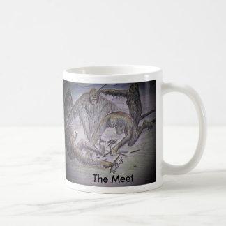 the meet, The Meet Classic White Coffee Mug