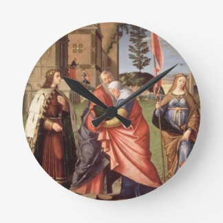 The Meeting at the Golden Gate with Saints, 1515 ( Wall Clocks