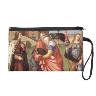The Meeting at the Golden Gate with Saints, 1515 ( Wristlet Clutches