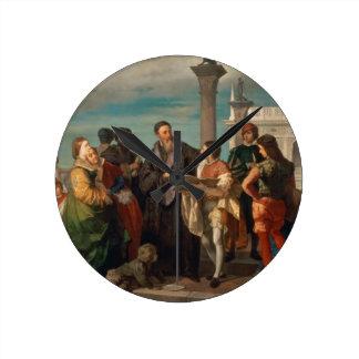 The Meeting Between Titian (1488-1576) and Verones Clocks